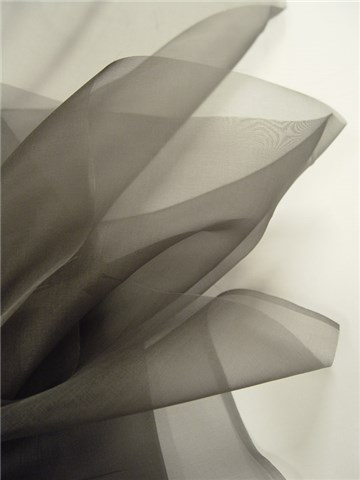 Silk Organza - Plain - Fir