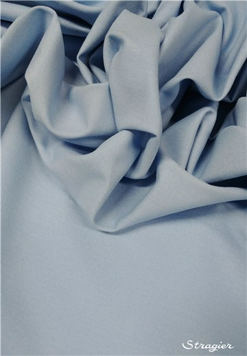 Cotton Cloth - brushed - Plain - Bleu Ciel
