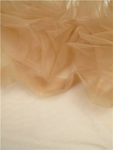 Tulle Stretch Invisible - uni - Peau