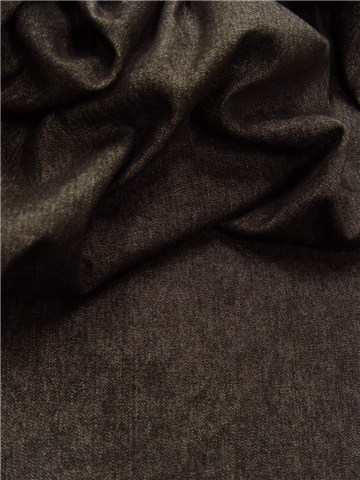 Denim Fabric - Plain - Noir