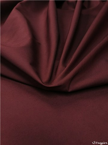 Cotton - waterproof - blended - Plain - Bordeaux