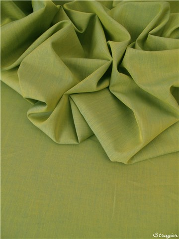 End-on-End - pure Cotton - Plain - Vert Azote