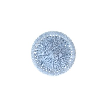 Thread Buttons - Elisabeth - Azur - 15 mm