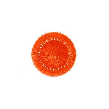 Thread Buttons - Elisabeth - Orange - 15 mm