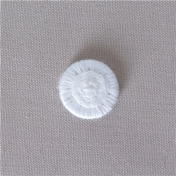 Thread Buttons - Eleonore - Blanc - 12 mm