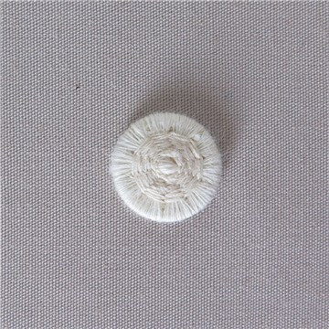 Thread Buttons - Eleonore - Naturel - 12 mm
