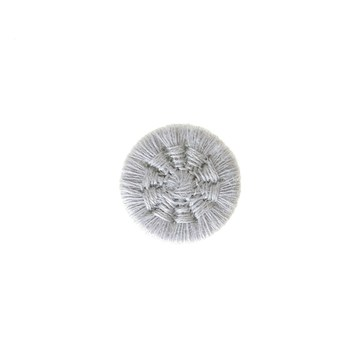 Thread Buttons - Eleonore - Gris Perle - 12 mm