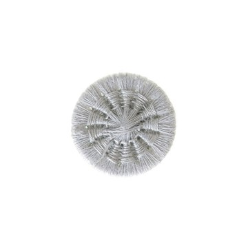 Thread Buttons - Eleonore - Gris Perle - 15 mm