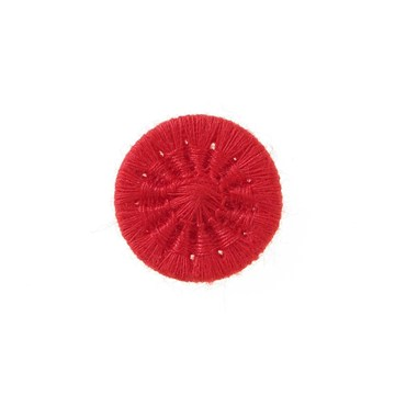 Thread Buttons - Eleonore - Rouge Rubis - 15 mm