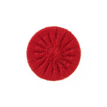 Thread Buttons - Eleonore - Rouge Rubis - 18 mm