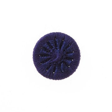 Thread Buttons - Eleonore - Marine - 15 mm