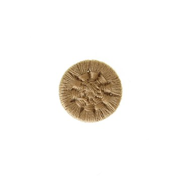 Thread Buttons - Eleonore - Beige - 12 mm
