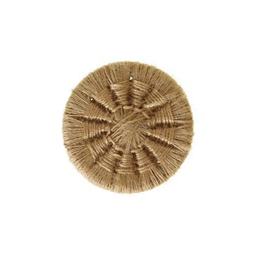Thread Buttons - Eleonore - Beige - 18 mm