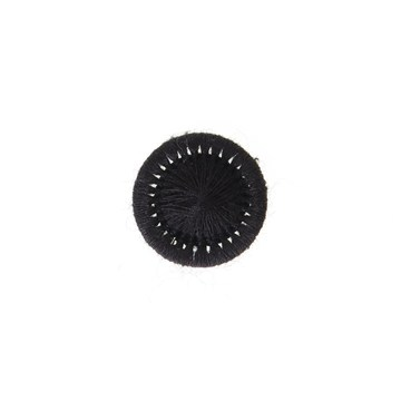 Thread Buttons - Elisabeth - Noir - 12 mm