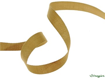 Twill Tape - Plain - 425 Camel - 10 mm