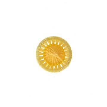 Thread Buttons - Elisabeth - Jaune - 12 mm