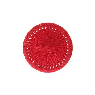 Thread Buttons - Elisabeth - Rouge Rubis - 20 mm