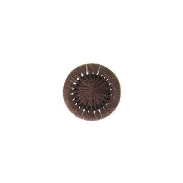 Thread Buttons - Elisabeth - Chocolat - 12 mm