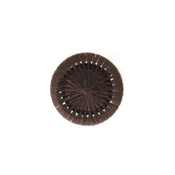 Thread Buttons - Elisabeth - Chocolat - 15 mm