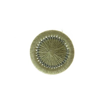 Thread Buttons - Elisabeth - Kiwi - 15 mm