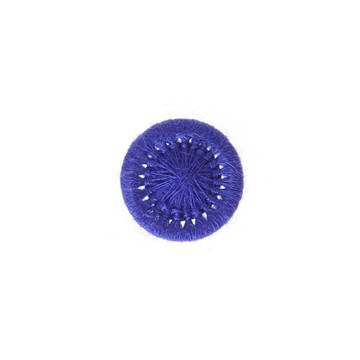 Thread Buttons - Elisabeth - Bleu Roi - 12 mm