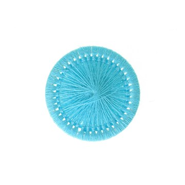 Thread Buttons - Elisabeth - Turquoise - 20 mm