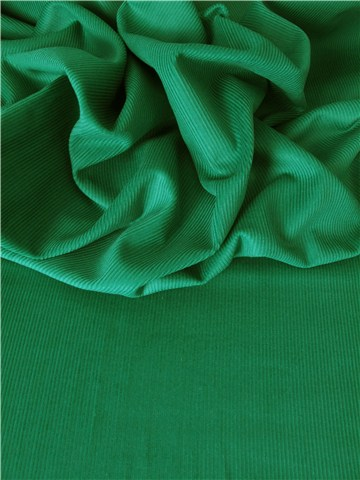 Baby Cord - Extra - Plain - New Emerald