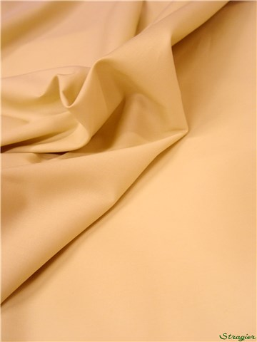 Poplin - stretch - Plain - Beige