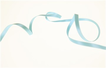 Double Face Satin Ribbon - Plain - 70 Turquoise - 6 mm