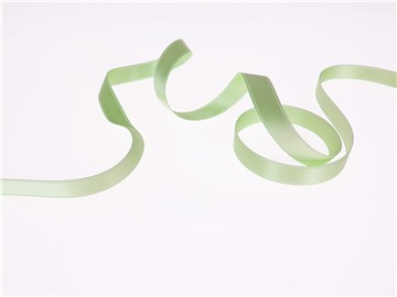 Double Face Satin Ribbon - Plain - 84 Pomme - 10 mm
