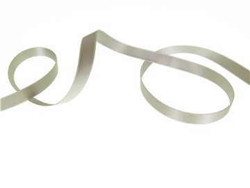 Double Face Satin Ribbon - Plain - 36 Grey - 10 mm