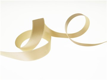 Double Face Satin Ribbon - Plain - 27 Beige - 16 mm