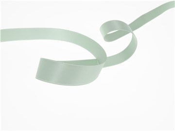 Double Face Satin Ribbon - Plain - 302 Menthe - 16 mm