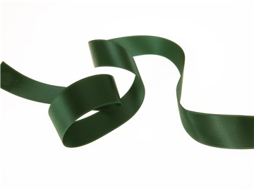 Ruban Satin double face - uni - 864 Dark Green - 25 mm