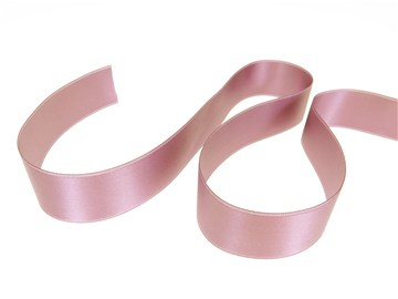 Double Face Satin Ribbon - Plain - 262 Crocus - 25 mm