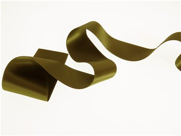 Double Face Satin Ribbon - Plain - 874 Savanne - 50 mm