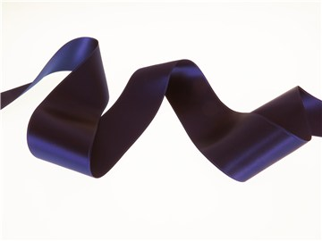 Double Face Satin Ribbon - Plain - 558 Deep Blue - 50 mm