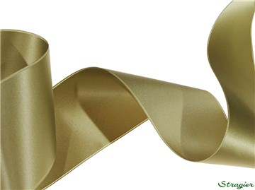 Ruban Satin double face - uni - 50 Khaki - 70 mm