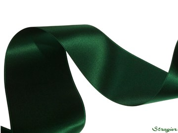 Ruban Satin double face - uni - 864 Dark Green - 70 mm