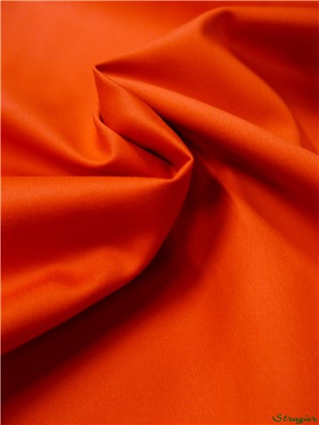 Sergé 215gr/m² - Uni - Orange