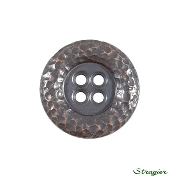 Metal Buttons - 011537 - Bronze - 20 mm