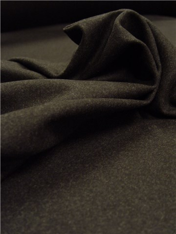 Wool - Coat - Plain - Anthracite