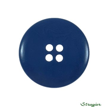 Ivory-Nut Buttons - 4 Trous - Indigo - 23 mm