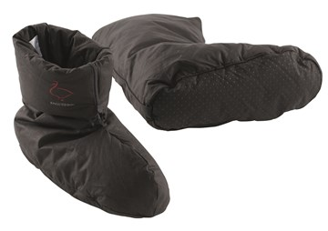 Chaussons en Duvet - uni - Anthracite - Medium 35-41