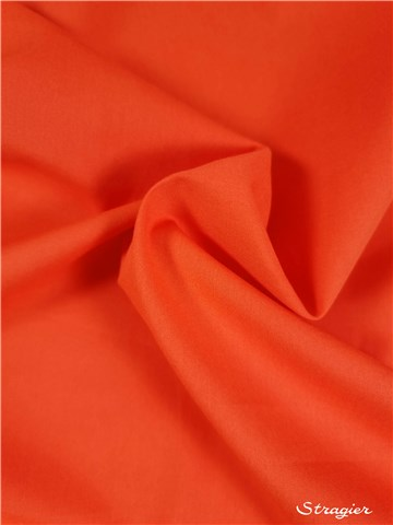 Poplin 59 threads/cm - Plain - Corail