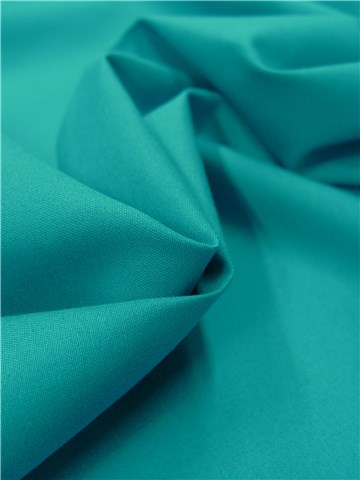 Cotton Twill - soft - Plain - Bleu Paon