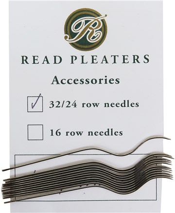 Needles for Read smocking Pleater (12 pces) - anciens modèles Années 1980