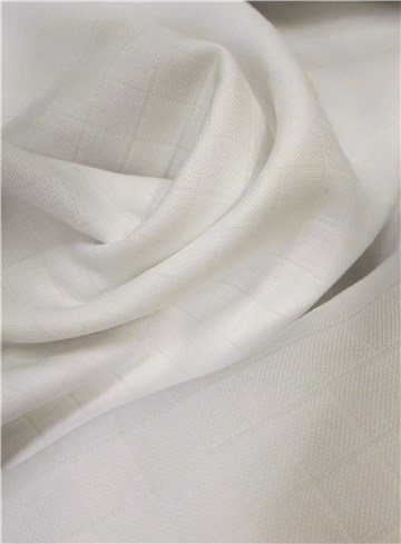 Double Cotton Gauze - Tetra - Plain - Blanc