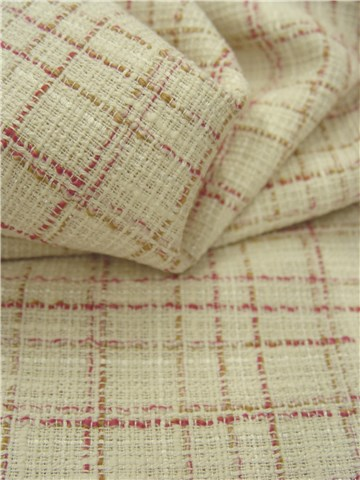 Tweed - 011630 - Blanc et Rose