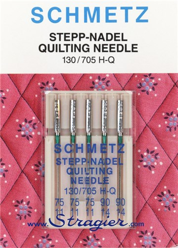 Aiguilles Machine Quilting/Patchwork - Mix  - 3pc 75/11 /  2pc 90/14 (5pc)